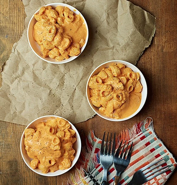 vegan red pepper mac and cheese,roasted red pepper mac and cheese vegan,roasted red pepper vegan mac n cheese,tasty roasted red pepper vegan mac and cheese